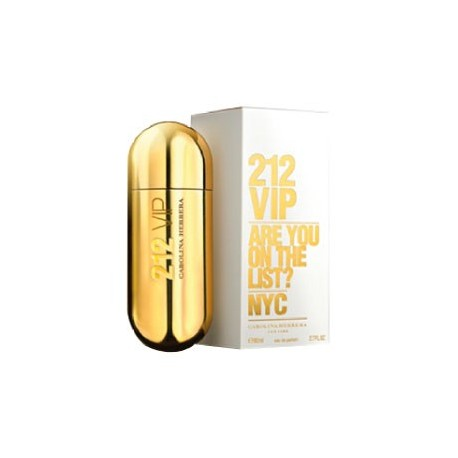 CAROLINA HERRERA 212 VIP x 80 ml