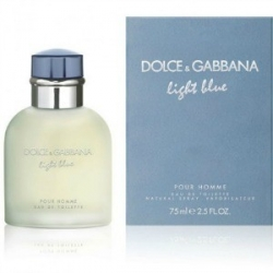 DOLCE & GABBANA POUR HOMME LIGHT BLUE x 75 ml vap