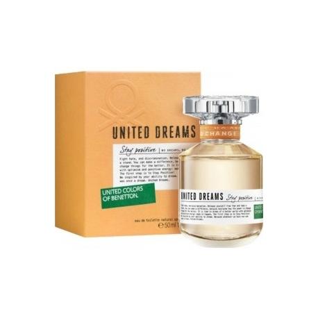 BENETTON UNITED DREAMS ORANGE x 50 ml
