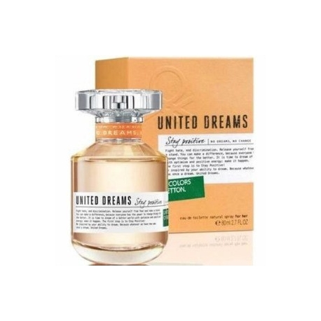 BENETTON UNITED DREAMS ORANGE x 80 ml