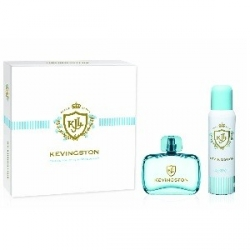 KEVINGSTON WOMEN ESTUCHE EDT x 50ml+DEOx150ml TURQUESA