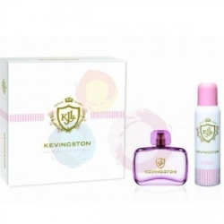 KEVINGSTON WOMEN ESTUCHE EDT x 50ml+DEOx150ml ROSA