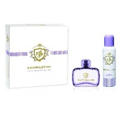 KEVINGSTON WOMEN ESTUCHE EDT x 50ml+DEOx150ml VIOLETA