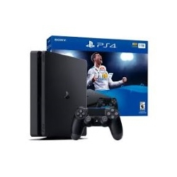 PLAYSTATION SONY PS4 SLIM 1TB JOYSTICK FIFA 2018 FISICO