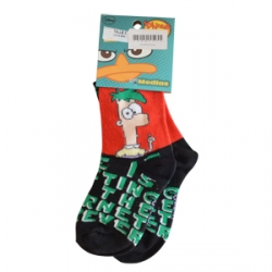 Medias Phineas y Ferb T: 4 a 7 años