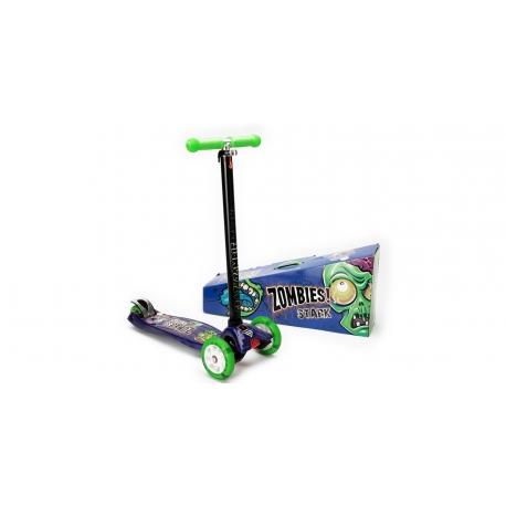 Scooter Zoombies 4 Ruedas/Luz 5805