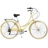 Bicicleta Paseo Acero Rod 28 Mujer 7 Veloc. Philco FCSS28VN070F