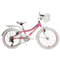 Bicicleta niña acero rodado 20 GKSS20VN060F