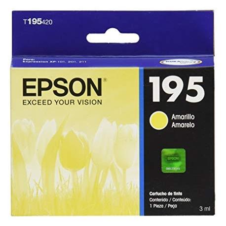 cartucho epson T195420 XP 201/211 yellow