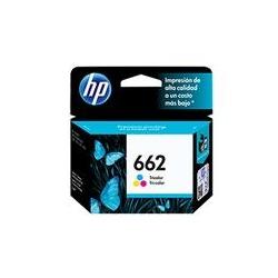 Cartucho de tinta 662 Tricolor HP-CZ104AL
