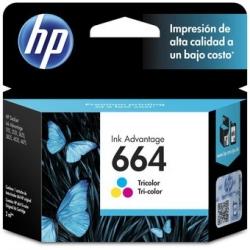 Cartucho de tinta 664 Tricolor HP-F6V28AL