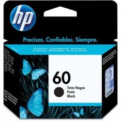 Cartucho de tinta 60 Negra HP-CZ640WL