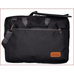 """Maletin Porta Notebook 15"""" c/compartimientos Negro MLC-02IT"""