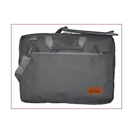 """Maletin Porta Notebook 15"""" c/compartimientos Gris MLC-02IT"""