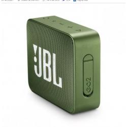 Parlante Portatil GO2 JBL Verde - JBLGO2GRN