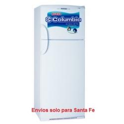Heladera con Freezer 414Litros Ciclica HTF 2434 Columbia Blanca