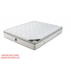 Colchon Resortes con Pillow Top Full Size 140x190cm