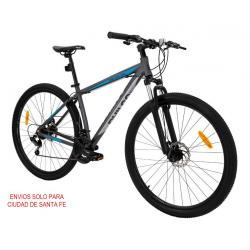 Bicicleta MTB Rodado 29 Talle 18 (L) Gris y Celeste GMXA29MF214M