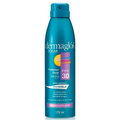 DERMAGLOS LINEA SOLAR - Pres: FPS 30 inv.spray x170ml