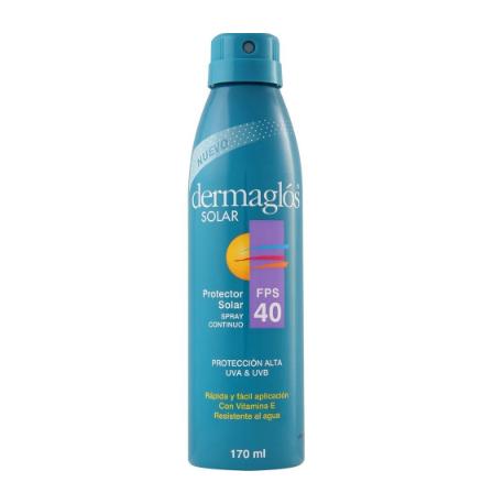 DERMAGLOS LINEA SOLAR - Pres: FPS 40 cont.spray x170ml