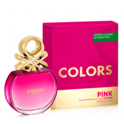 BENETTON COLORS PINK FEM EDT x 80 ml