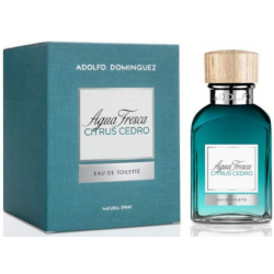 ADOLFO DOMINGUEZ AGUA FRESCA CITRUS CEDRO MEN -Pres Edt x 120 ml