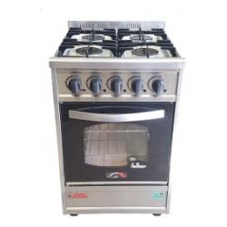 Cocina Eco Versatil 52 cm, 4 hornall GN I52EV