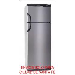 Heladera con Freezer 414Litros Ciclica HTA 2434 Columbia Plateada