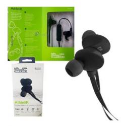Auriculares deportivos Athletik Bluetooth c/mic Klip Extreme KHS-633BK