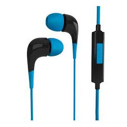 Auricular Noblex In Ear Extra Bass - Azul HPI09A