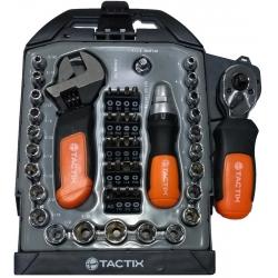 Set 47 Piezas Encastre 1/4 Tubos/Bits Stubby - Tactix TX900254