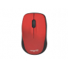 Mouse Optico Wireless 1600dpi Red Nisuta mini NS-MOW37R