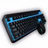 Teclado + Mouse Gamer Inalambrico 2.4Ghz Noganet Stromer NKB-40AZ