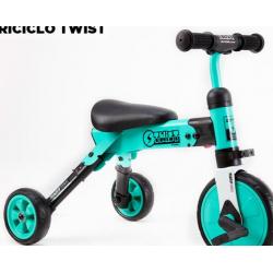 Triciclo Twist Aluminio Plegable Turquesa 6205 Stark