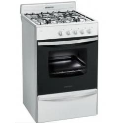 Cocina 4 horn-blanca-horno c/visor -multigas 13231BF