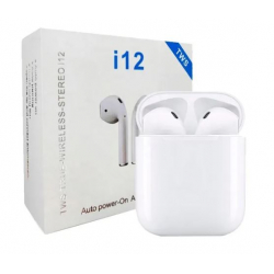 Auriculares In EAR bluetooth 5.0 I12S Blanco