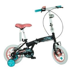Bicicleta Plegable Rod 16 - Cod 7151 Bia Disney - Negro (cuadro Niño)