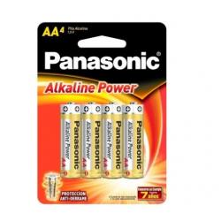 Pila Panasonic Alkaline AA X4 en Blister PA2024BL192