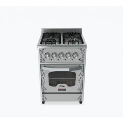 Cocina Fornax 4H Anata Acero inox 55cms