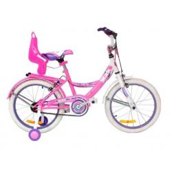 "Bicicleta Rod 16"" Playera Dama Flowers 6095 Stark"