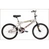 Bicicleta BMX Rodado 20 Varon Cromada STARK